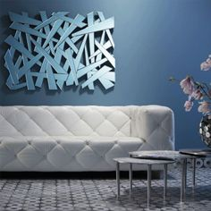 Moderne Spiegel spiegel retro hout wall interieur houten meubels