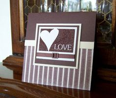 Case of pamelak's Masculine Valentine by durhamzoo - Cards and Paper Crafts at Splitcoaststampers