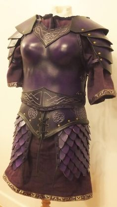 Excellent woman's armour, made by http://www.evenlodestudio.com