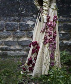 .flower gown