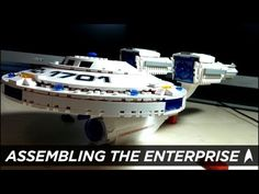 Mike Fahey Assembles the Enterprise from Star Trek