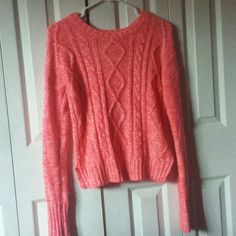 Hot Pink knitted sweater Hot pink. Knitted. Small. ? Sweaters