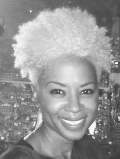 Janice Is Naturally Glam and Gray! | Curly Nikki | Natural Hair Styles and Natural Hair Care