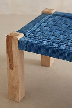 Lost & Found Woven Bench - anthropologie.eu