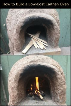 Bake Your Own Pizza And Bread by Building This Inexpensive Earthen Oven Backyard Chicken Coops, Chickens Backyard, Bread Oven, Bread Baking, Outdoor Cooking, Outdoor Kitchens, Survival, Pizza, Homemade
