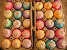 Cascarones! Mexican confetti Easter eggs!