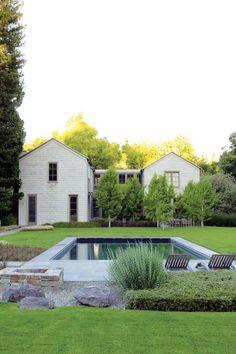 Simple clean garden  The Golden State's Magazine