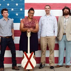 Alabama Shakes....seriously their album Boys & Girls is amazing, they are amazing, and i cannot wait to see the magic that is Alabama Shakes live!!