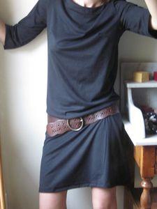 14   jersey de coton noir
