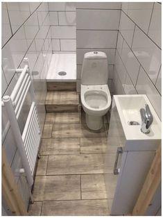 Small Bathroom Renovations, Tiny Bathrooms, Tiny House Bathroom, Wood Bathroom, Diy Bathroom Decor, Bathroom Design Small, Bathroom Layout, Modern Bathroom, Bathroom Ideas