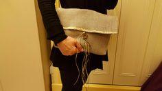 Sac réalisé avec les tissus Ellen en sisal par une cliente :)