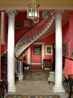 Annesbrook House, Co. Meath - staircase hall