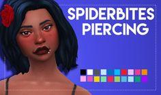 Simsworkshop: Spider Bites Piercing by Weepingsimmer • Sims 4 Downloads