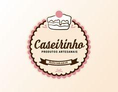 Baking Logo Design, Cake Logo Design, Logo Dulce, Calligraphy Flowers, Logo Branding, Branding Design, Jar Packaging, Bakery Logo, Vintage Tags