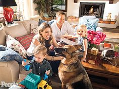 Michael Weatherly: How Having Kids Influenced MyDécor http://celebritybabies.people.com/2015/04/14/michael-weatherly-family-hollywood-hills-home-photos/