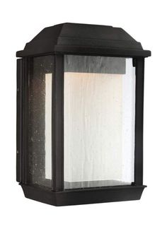 Murray Feiss OL12800-LED McHenry LED Outdoor Wall Sconce Textured Black Outdoor Lighting Wall Sconces