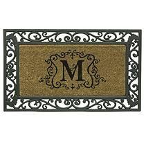 Monogram Doormat - M