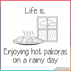 We can't #promise the #rain, but we can promise #Pakoras! @thegreatmela #lifeisamela and #itallhappensinbetween #bhajiya #tea #pakoras #food #delicious #eat #bliss #weekend #fun #hot
