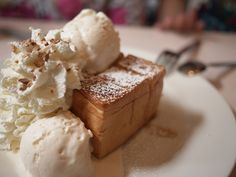 clottedcreamscone:  Shibuya honey toast by noka_fr on Flickr.
