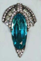 Eisenberg, 1940s late period art deco. Eisenberg - renowned for their beautiful jewelry.  Betty