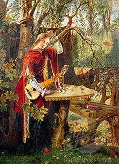 Fair Rosamund      --William Bell Scott