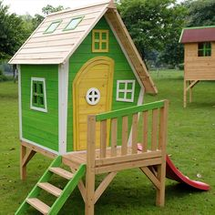 Your kids are going to be grateful for creating this wonderful outdoor playhouse for them. You can craft this awesome thing just with the pallets. Don't worry pallets are durable and tough to bear considerable weight. It will alsoadd beauty to your garden.