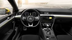 VW has dipped its toe into the waters with luxury cars before, but the genre hasn't been kind. The Phaeton has faded and the Passat CC is a great car that no-one bought, but that hasn't deterred VW from giving it one more shot with the Arteon. Volkswagen Jetta, Vw Arteon, Volkswagen Group, Vw Passat, Volkswagen Interior, Top Supercars, Vans, Car Posters, Station Wagon