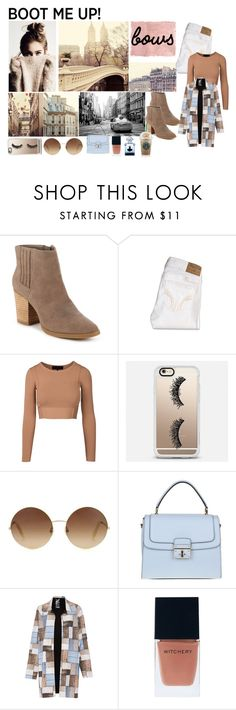 """""""Boot Me Up!"""" by biancaberto on Polyvore featuring moda, Rothko, Madden Girl, Hollister Co., Casetify, Victoria Beckham, Dolce&Gabbana, Norma Kamali, Witchery e Guerlain"""