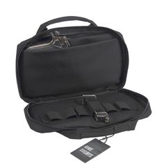 Tactical Carry Bag - For Hand Gun and magazines - Semiautomatic & Revolvers - Pistols - Military Carry Case 34x19cm