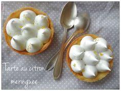 Tarte au citron meringuée   'cuisine au beurre salé'