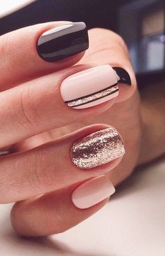 40 Stylish Easy Nail Polish Art Designs for This Summer for .- 40 Stylish Easy Nail Polish Art Designs for This Summer for 2019 – Page 33 of 40 40 Stylish Easy Nail Polish Art Designs for This Summer for 2019 Page 33 of 40 - Cute Nails For Fall, Cute Simple Nails, Pretty Nails For Summer, Perfect Nails, Nagellack Design, Nagellack Trends, Stylish Nails, Trendy Nails, Elegant Nails