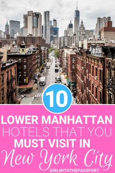 Check out this local's guide to 10 of the best hotels in Lower Manhattan. Stay at one of these Lower Manhattan hotels and enjoy the trip of a lifetime. Manhattan Hotels, Nyc Hotels, Lower Manhattan, Best Hotels, Manhattan Night, Manhattan Map, Manhattan Restaurants, Manhattan Skyline, Luxury Hotels
