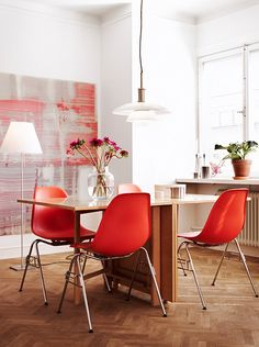White and red ideas for your home | 79 ideas