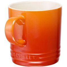 Le Creuset 350ml Mug in 'Flame' (orange)