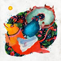 The Garden of Good and Evil by Aitch, via Behance