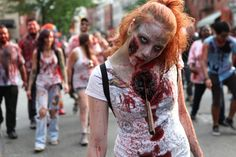 Real Zombies | Zombies Attacked Williamsburg Over the Weekend -- Daily Intelligencer