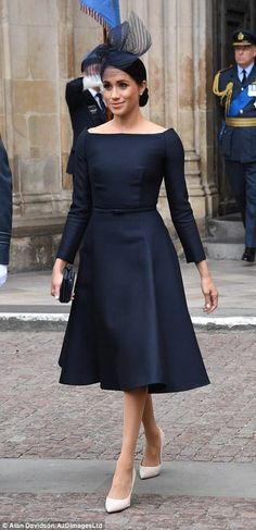 Kate opts for SAME Alexander McQueen coat she wore at Meghans wedding - Dior Dress - Ideas of Dior Dress - 10 July 2018 British Royals attend the service at Westminster Abbey to commemorate The Royal Air Force's 100 birthday dress and shoes by Dior African Wear, African Dress, Prinz Harry, Dior Dress, Herzog, African Fashion Dresses, Royal Fashion, Classy Outfits, Dress Patterns