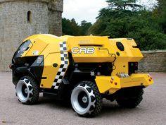 Land Rover City Cab トランスフォーマー・アニメイテッド アイアンハイドの元ネタ?