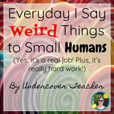 Kids say the funniest things! A humorous blog post about things teachers say! Click here for laughs!