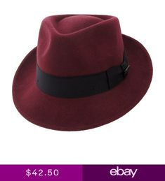 e95ae0b456d2b BIGALLI QUICK STEP WOOL FELT FEDORA - Same Day Shipping - QS