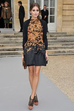 Olivia Palermo attends the Christian Dior