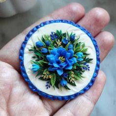 #полимернаяглина #цветы #подарок #магниты #8марта #polymerclay #flowers #gift