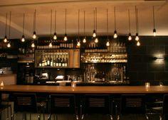 10 bottle dispenser at highly recommended restaurant Barrique in Amsterdam