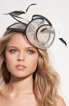 Glint fascinator headband for the derby Halo Headband, Wide Headband, Headband Styles, Kentucky Derby Fascinator, Kentucky Derby Hats, Metal Headbands, Pink Headbands, Headpieces, Fascinators
