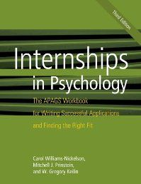 Since the second edition of this book was published, significant changes have occurred in the psychology internship application process. This edition offers updated and enhanced information to address these modifications, as well as a new chapter written specifically for directors of clinical training, offering suggestions on how best to assist students during this process.