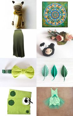 Green Thursday Collection by Nadia Mangione @bynadialab on @etsy @etsyitaliateam @itsmartteam #handmade #giftideas #green #accessories. Click and comment https://www.etsy.com/treasury/MzM5MjU2NTB8MjcyNDQ2MTExNw/green-thursday --Pinned with TreasuryPin.com