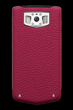 The new Vertu Constellation in elegant raspberry. http://constellation.vertu.com/#