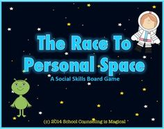 CHECK+OUT+THE+PREVIEW+FOR+A+MORE+DETAILED+SAMPLE! This+game+will+teach+young+students+how+to+respect+others+personal+space+in+the+classroom,++in+the+hallway,+and+in+the+lunchroom.+Students+will+race+through+Personal+Space+by+learning: 1)+the+difference+between+good+and+bad+personal+space 2)+how+to+look+for+clues+that+they+may+be+invading+someone's+personal+space 3)+what+to+do+if+someone+invades+their+personal+space Students+will+also+have+a+chance+to+role+play+how+to+respect+others+personal+...