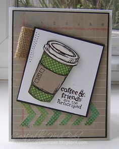 FM119 Ode to Coffee by hlw966 - Cards and Paper Crafts at Splitcoaststampers
