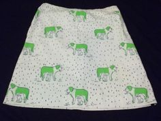 Cat Shelter:  Vintage Vested Gentress Cat Under Dog in The Rain Novelty Skirt Size 18 | eBay